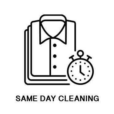 Same Day Cleaning Service Button