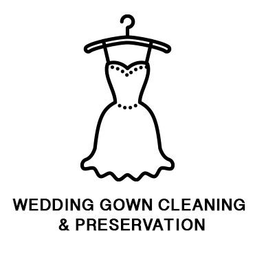 Wedding Gown Service Button
